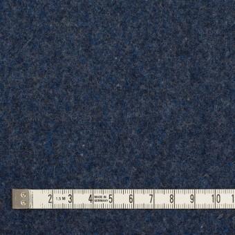 ウール&ポリエステル混×無地(ミッドナイトブルー&グレー)×Wツイード_全4色 サムネイル4