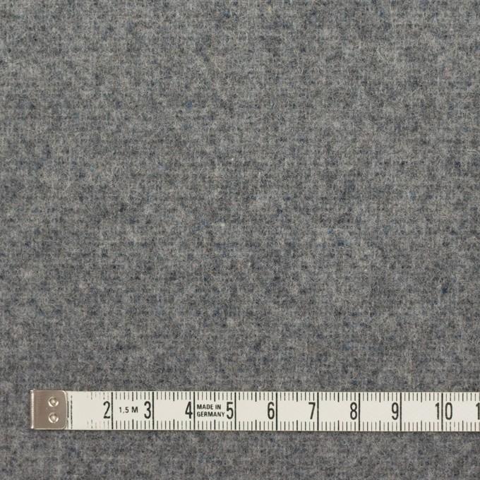 ウール&ポリエステル混×無地(ミッドナイトブルー&グレー)×Wツイード_全4色 イメージ6