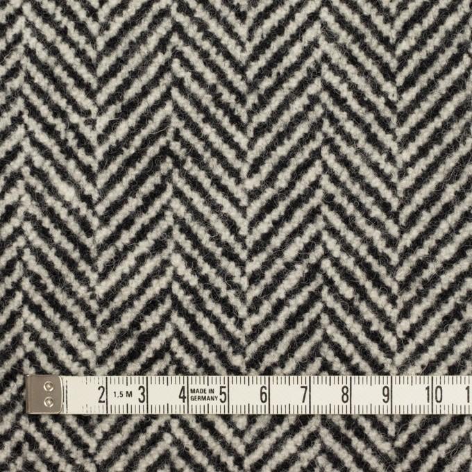 ウール&ポリウレタン×ミックス(ブラック)×ファンシーツイード イメージ4