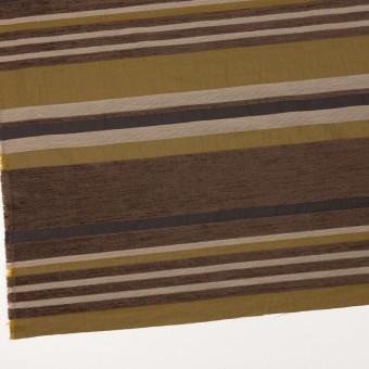 アクリル&ポリエステル混×ボーダー(アンティークゴールド)×ジャガード_全2色_イタリア製_パネル サムネイル2