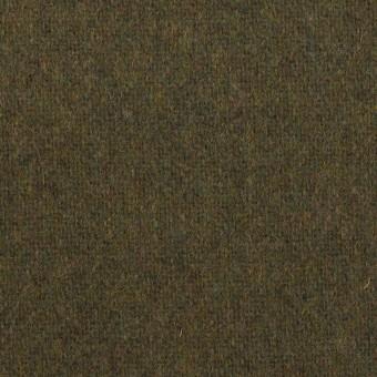 ウール×無地(カーキグリーン)×ツイード サムネイル1