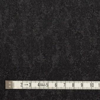 ウール×幾何学模様(グレー&チャコール)×ジャガード_全2色 サムネイル4