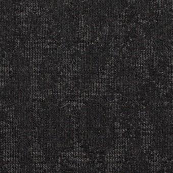 ウール×幾何学模様(グレー&チャコール)×ジャガード_全2色