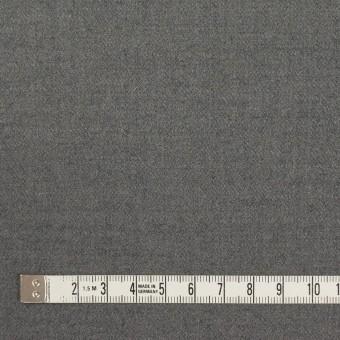 ウール&アンゴラ混×無地(グレー)×サージストレッチ_全2色 サムネイル4