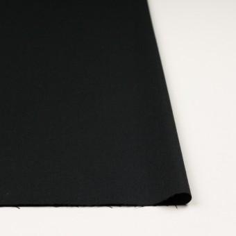 ウール&アンゴラ混×無地(ライトブラック)×サージストレッチ_全2色 サムネイル3