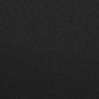 ウール&アンゴラ混×無地(ライトブラック)×サージストレッチ_全2色