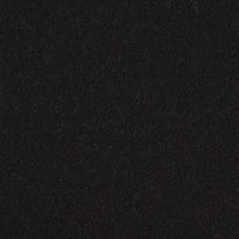 アンゴラ&ウール×無地(ブラック)×フラノ(フランネル)