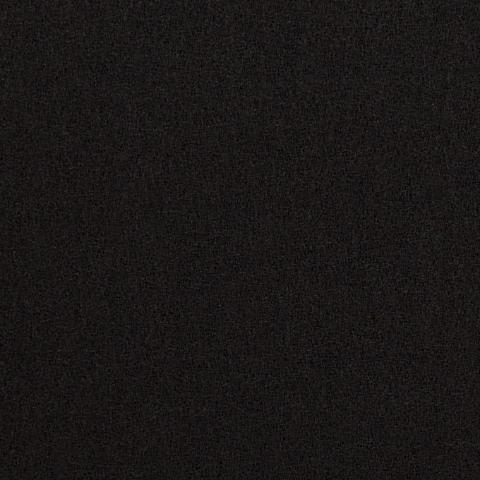 ウール×無地(ブラック)×ジョーゼット イメージ1