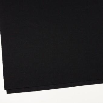 ウール×無地(ブラック)×かわり編み サムネイル2