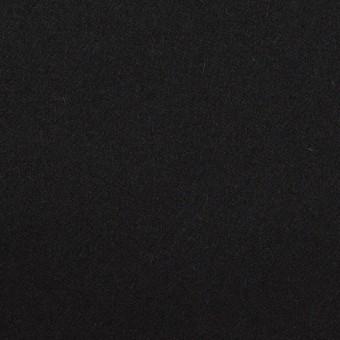 ウール×無地(ブラック)×フラノ(フランネル)