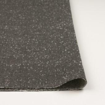 ウール&ナイロン×無地(スレートグレー)×二重織_イタリア製 サムネイル3