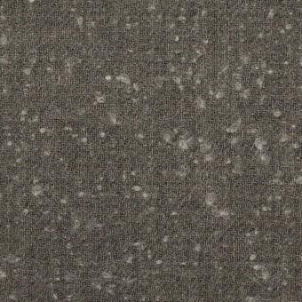 ウール&ナイロン×無地(スレートグレー)×二重織_イタリア製