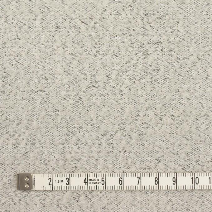 ウール&ナイロン×無地(スレートグレー)×二重織_イタリア製 イメージ6
