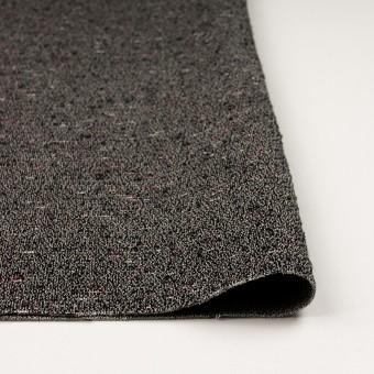 コットン&ウール混×ミックス(キナリ&ブラック)×二重織 サムネイル3