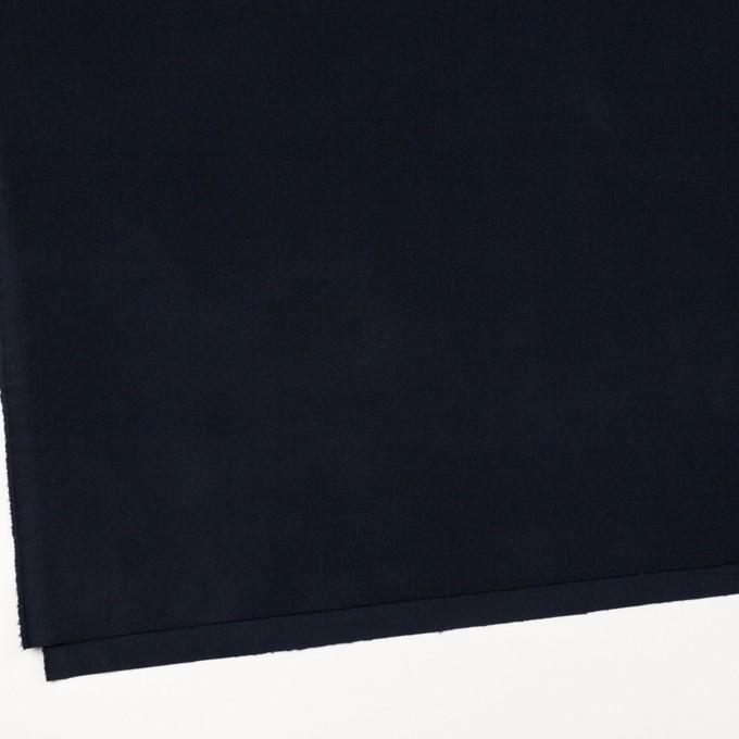 コットン&ポリウレタン×無地(ダークネイビー)×ビエラストレッチ_全4色 イメージ2