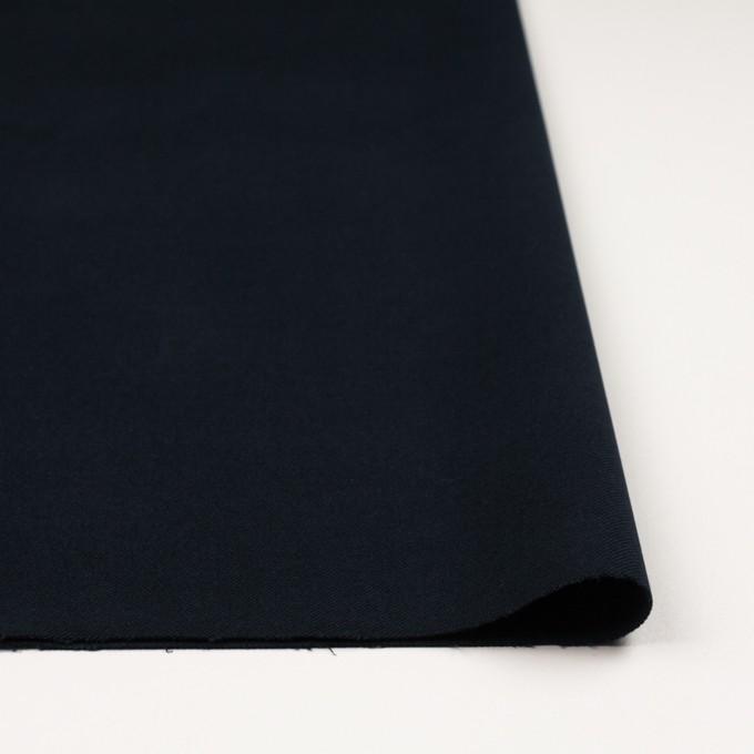 コットン&ポリウレタン×無地(ダークネイビー)×ビエラストレッチ_全4色 イメージ3