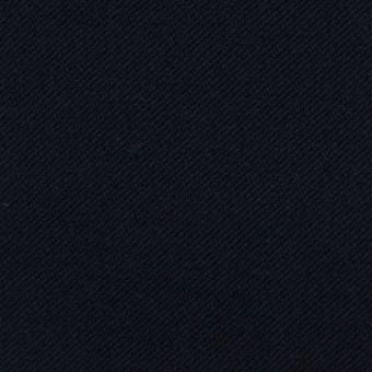 コットン&ポリウレタン×無地(ダークネイビー)×ビエラストレッチ_全4色
