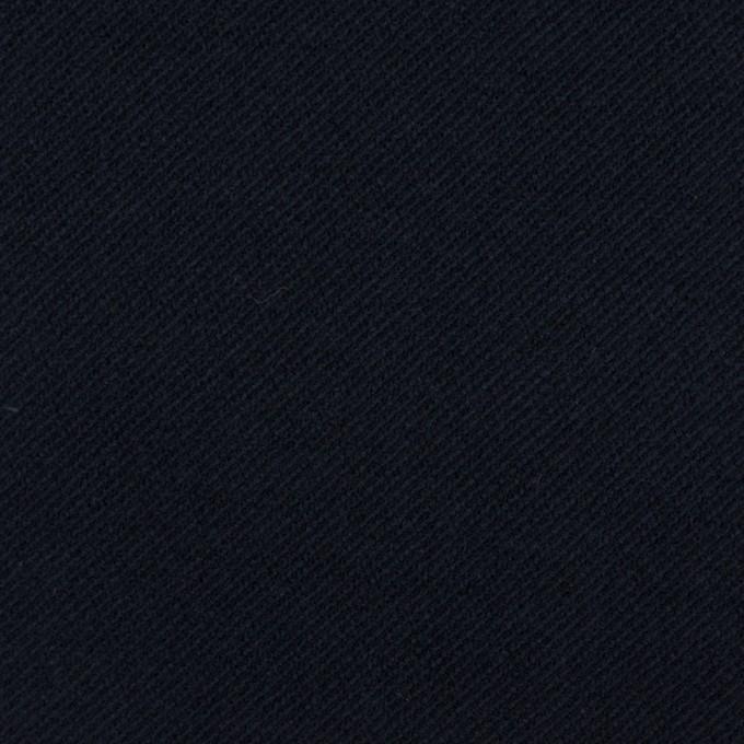 コットン&ポリウレタン×無地(ダークネイビー)×ビエラストレッチ_全4色 イメージ1