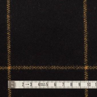 ウール×チェック(ブラック)×フラノ(フランネル) サムネイル4