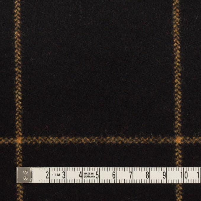 ウール×チェック(ブラック)×フラノ(フランネル) イメージ4