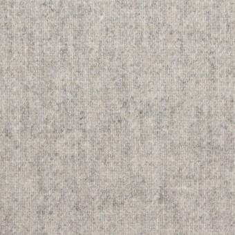 ウール×無地(ライトグレー)×ツイード サムネイル1