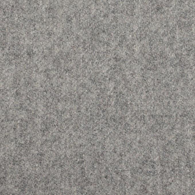 ウール&ナイロン×無地(シルバーグレー)×フラノ(フランネル) イメージ1