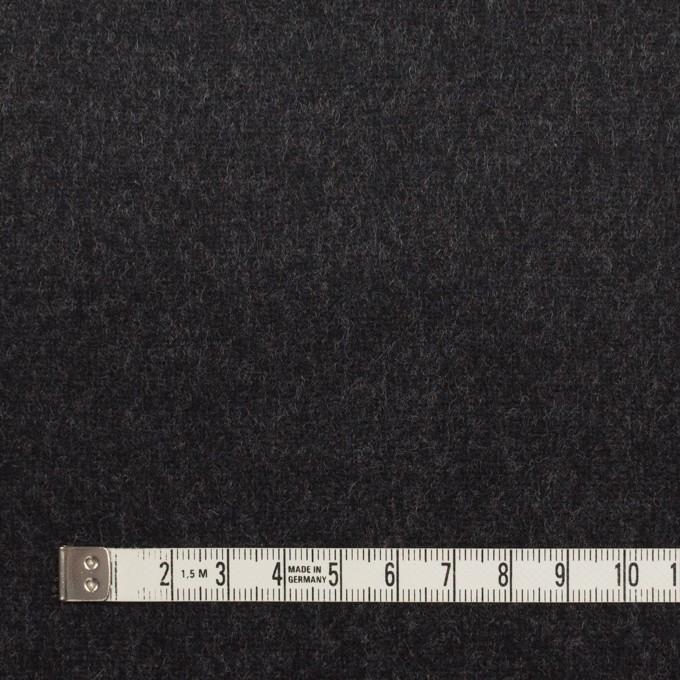 ウール×無地(チャコール&ネイビー)×Wフェイスフラノ(フランネル) イメージ4