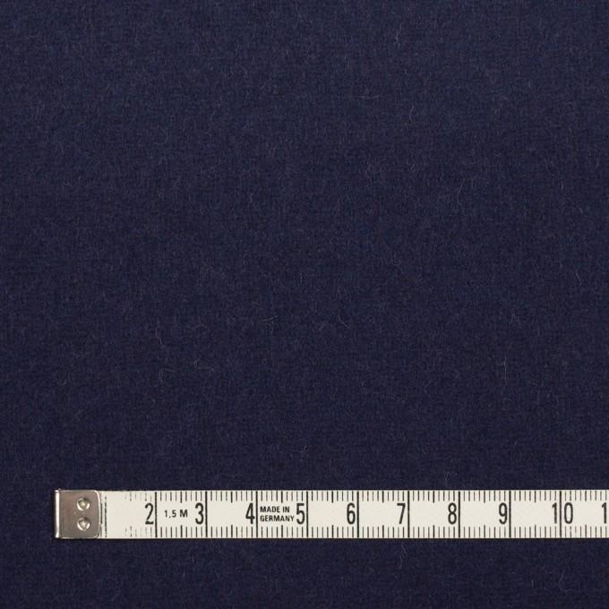 ウール×無地(チャコール&ネイビー)×Wフェイスフラノ(フランネル) イメージ6