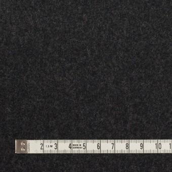 ウール×無地(チャコール)×フラノ(フランネル) サムネイル4