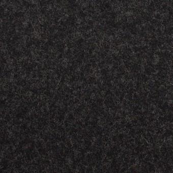 ウール×無地(チャコール)×フラノ(フランネル) サムネイル1