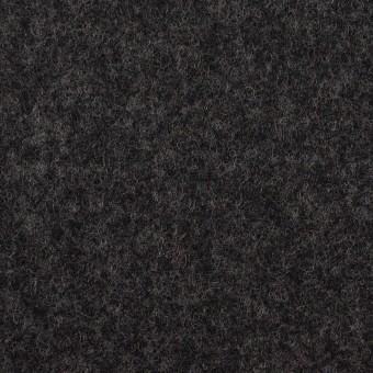 ウール×無地(チャコール)×ソフトメルトン サムネイル1