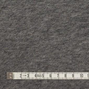 モヘア&ウール混×無地(チャコールグレー)×ループニット_イタリア製_全2色 サムネイル4