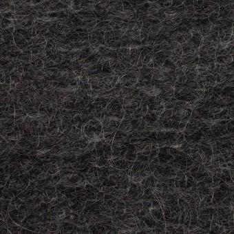 モヘア&ウール混×無地(チャコール)×ループニット_イタリア製_全2色