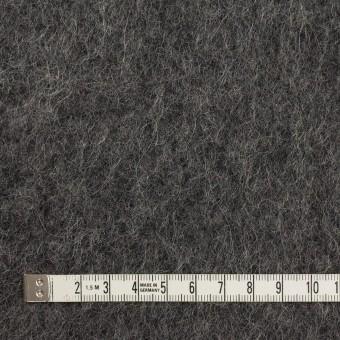 ウール&モヘア×無地(チャコールグレー)×かわり編み サムネイル4