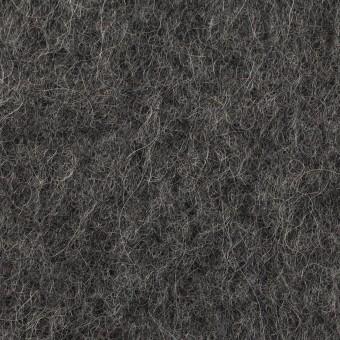 ウール&モヘア×無地(チャコールグレー)×かわり編み