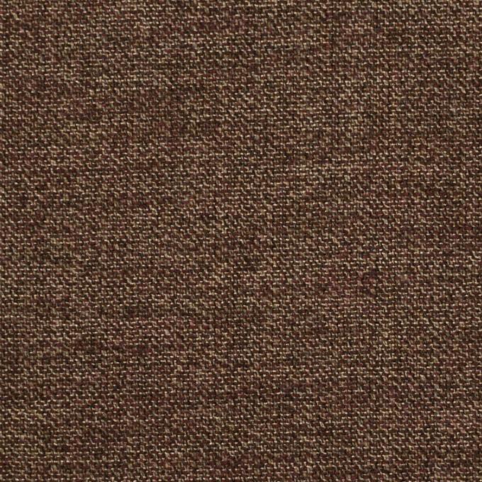 ウール&ポリエステル×無地(カーキブラウン)×ポプリン_イタリア製 イメージ1