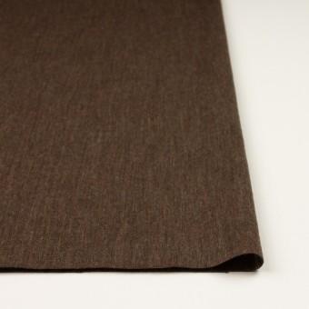 ウール×無地(カーキブラウン)×かわり編み サムネイル3