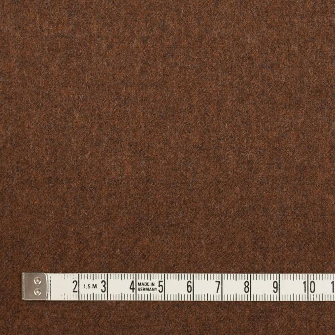 ウール&ポリウレタン×無地(ブラウン)×サージストレッチ イメージ4