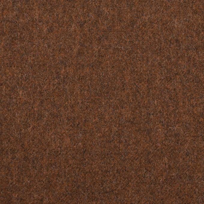 ウール&ポリウレタン×無地(ブラウン)×サージストレッチ イメージ1