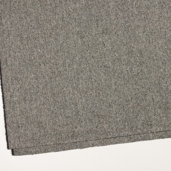 ウール&ポリウレタン×ミックス(アイボリー&ブラック)×ツイードストレッチ_全2色 サムネイル2