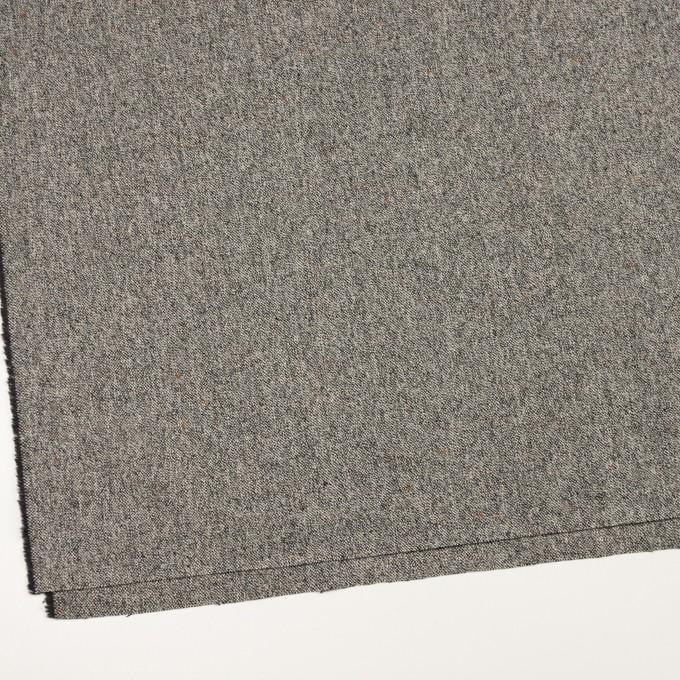 ウール&ポリウレタン×ミックス(アイボリー&ブラック)×ツイードストレッチ_全2色 イメージ2