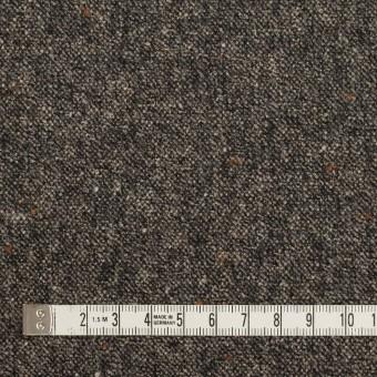 ウール&ポリウレタン×ミックス(キナリ&チャコール)×ツイードストレッチ_全2色 サムネイル4