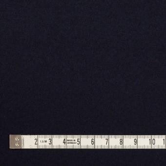 ウール×無地(ダークネイビー)×圧縮ニット サムネイル4