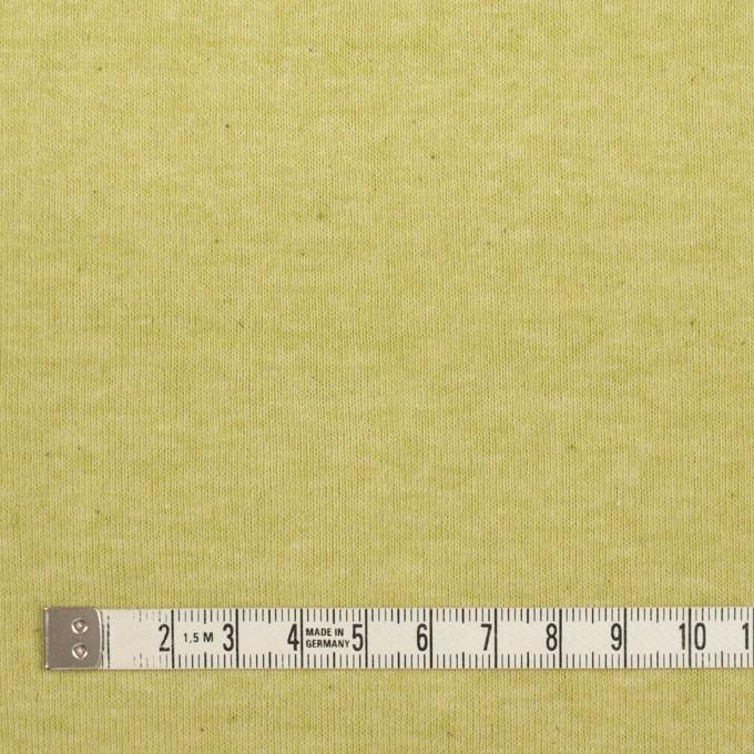 コットン×無地(ラ・フランス)×裏毛ニット イメージ4