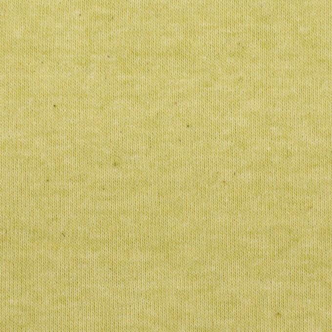 コットン×無地(ラ・フランス)×裏毛ニット イメージ1