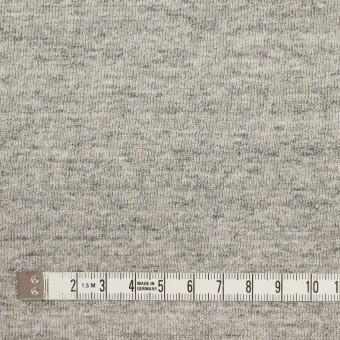 コットン×無地(杢グレー)×裏毛ニット サムネイル4