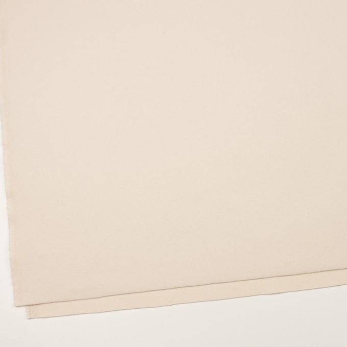 ウール×無地(アンティークホワイト)×フラノ(フランネル) イメージ2