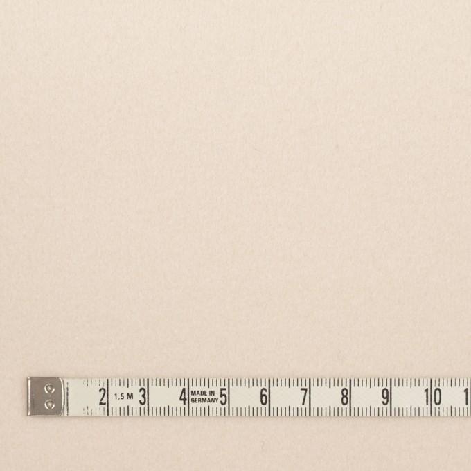 ウール×無地(アンティークホワイト)×フラノ(フランネル) イメージ4