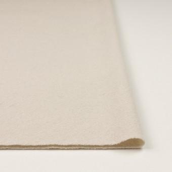 ウール&ナイロン×無地(アイボリー)×かわり織 サムネイル3