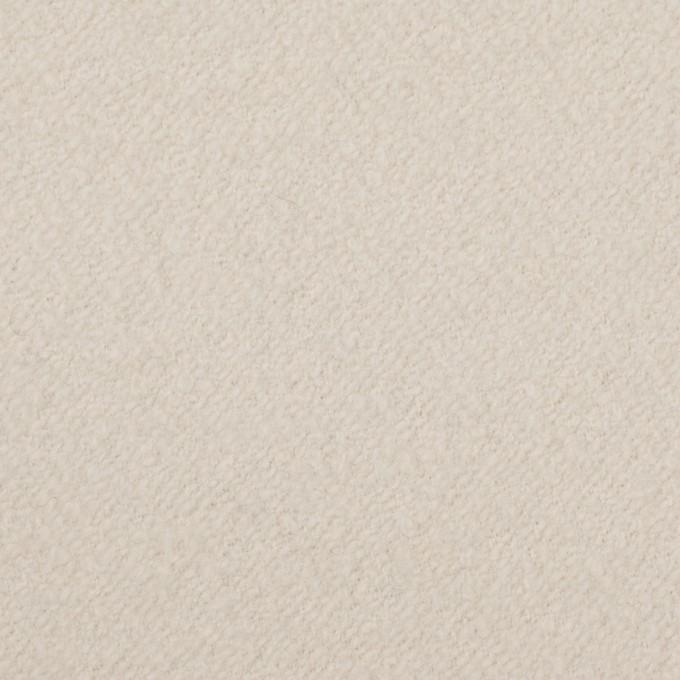 ウール&ナイロン×無地(アイボリー)×かわり織 イメージ1